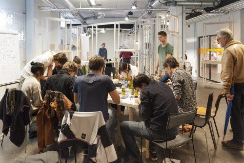 Squaresynth and MiCam workshop in Age of Wonderland - Dutch Design Week 2014