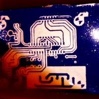 PCB printing using Laser Cutting