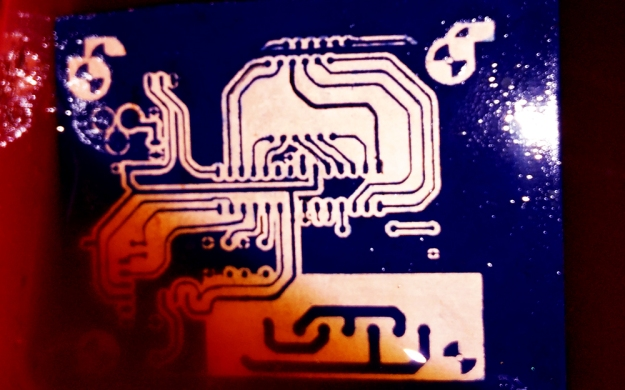 PCB printing using Laser Cutting | biodesign for the real world